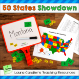 States and Capitals Review Game (Find the States Showdown)