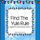 Find the Yule Rule! Holiday Math Fun FREEBIE!