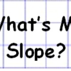 Finding Slope from a Graph or Using Ordered Pairs Activity