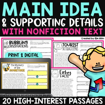 Finding the Main Idea with Non-Fiction Texts