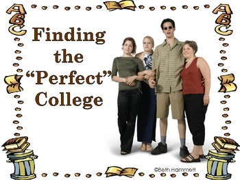 "Finding the ""Perfect"" College (CCSS College Readiness/ELA"