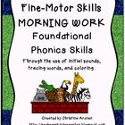 Fine-Motor Skills Morning Work A-Z