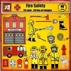 Fire Fighter Clip Art - Fire Safety