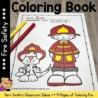 Fire Prevention and Safety Fun! Color For Fun Printable Co