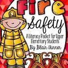 Fire Safety Literacy Packet {To Benefit Boston Firefighter