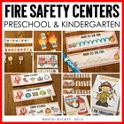 Fire Safety Math & Literacy Centers Primary Grades