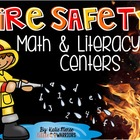Fire Safety Math and Literacy Centers