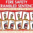 Fire Safety Scrambled Sentences