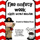 Fire Safety {Sight Word Mini-Book}