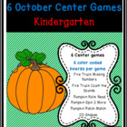Fire Trucks and Pumpkins:  6 Kindergarten Common Core Cent
