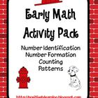 Firefighters Early Math Activities