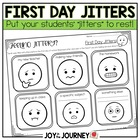 First Day Jitters Activity Packet (CC Aligned)