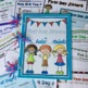 First Day Jitters Activities for K-2nd Grade {Common Core