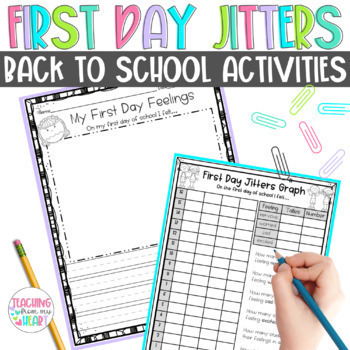 First Day Jitters Activities for Back to School {Common Core Aligned}