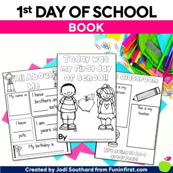First Day of School Book