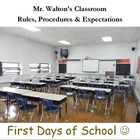 First Days of School PowerPoint