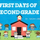 First Days of Second Grade Activities and Helpful Handouts