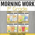 First Grade (1st Grade) Morning Work for Common Core Bundl