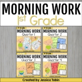 Morning Work for First Grade Common Core Bundle {4 Sets}