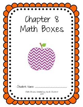http://www.teacherspayteachers.com/Product/First-Grade-Advanced-Math-Boxes-Everyday-Math-Chapter-8-1185189