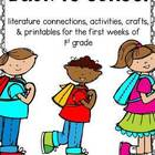 First Grade Back to School Activities