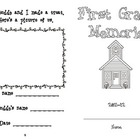 First Grade / Buddy Memory Book