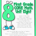 First Grade CORE Math Unit 8