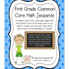 First Grade Common Core Math Jeopardy Game