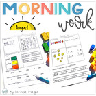 First Grade Common Core Morning Work {Literacy and Math} 1