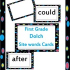 First Grade Dolch Site Words