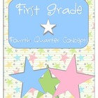 First Grade FOURTH Quarter Common Core Preview