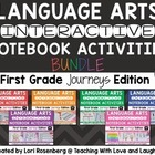 First Grade Interactive Notebooks {2014 Journeys Edition U