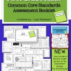 First Grade Math Common Core Assessment Booklet