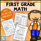 First Grade Math Common Core Cut-and-Glue Workbook