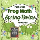 First Grade Math {Frog Math} A Spring Math Review