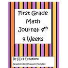 First Grade Math Journal: 4th 9 weeks (updated)