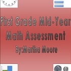 First Grade Mid-Year Math Skills Assessment