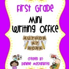 First Grade Mini Writing Office