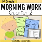 First Grade Morning Work for Common Core Set # 2 {Quarter