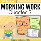 First Grade Morning Work for Common Core Set #3 {Quarter 3