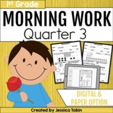 Morning Work for First Grade Common Core Set #3 {Quarter 3