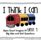 First Grade Open Court Imagine It! Posters for Unit 7