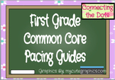 First Grade Quarterly Pacing Guides - Editable
