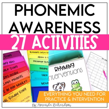 First Grade RTI: Phonemic Awareness