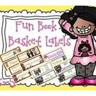 First Grade Reading Book Basket Labels