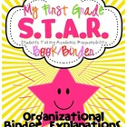 First Grade S.T.A.R. Book (Binder) Organizational Binder