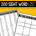 First Grade Sight Word Pack: Second Hundred Words