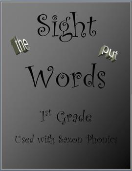 PHONICS) (FROM GRADE TeachersPayTeachers.com words sight SAXON  FIRST SIGHT WORDS  and phonics