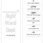 First Grade Student Sight Word Book with Sentences