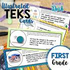 First Grade TEKS- Illustrated and Organized!